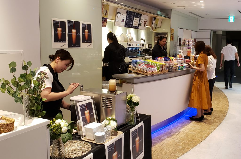 企業内カフェ バリスタケータリング