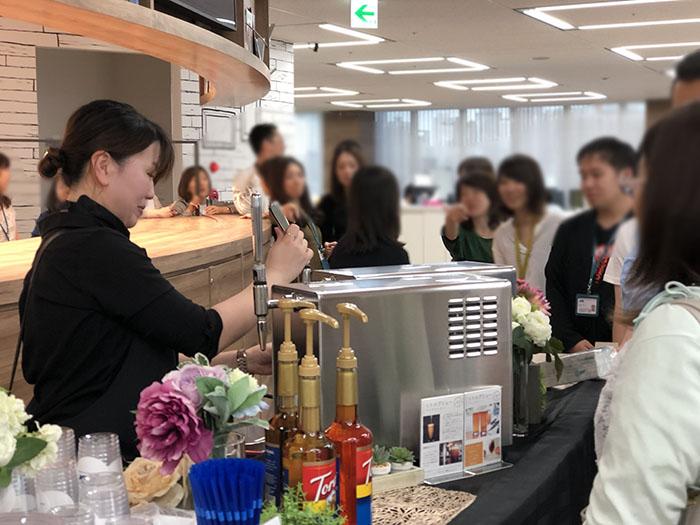 企業内カフェ ケータリング