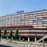 TOC五反田 大学入試会場 関係者控室ドリンクサービス