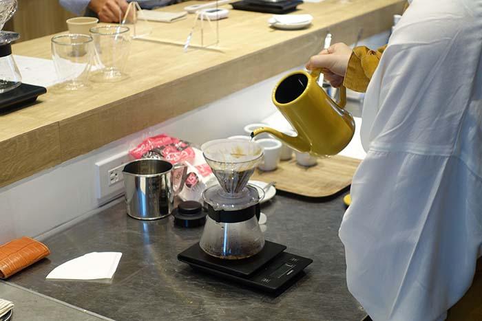 コーヒー教室 コロナ対策 バリスタケータリング