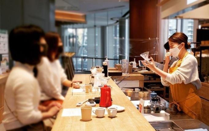 コーヒーワークショップ #CAFE105 TORANOMON 出張バリスタ