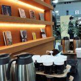 東京ビッグサイト  総務・人事・経理 WEEK  企業ブース内  コーヒー  ケータリング